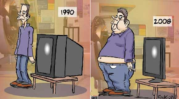 Obesity-Television